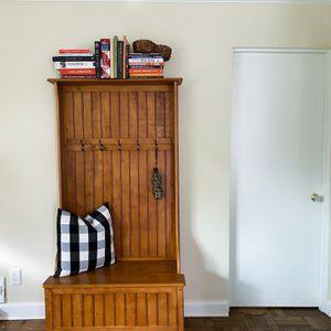 Coat Rack with Storage Bench for Sale in Alexandria, VA