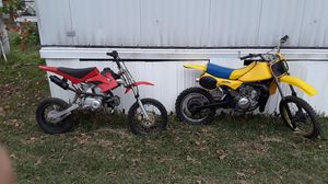 Dirtbikes motorcycle suzuki rm80 2 stroke for Sale in New Caney, TX