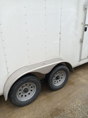16ft trailer enclosed ready to go for Sale in Houston, TX