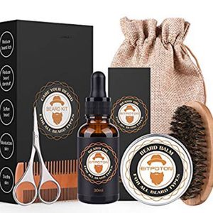 Brand New Beard Grooming & Trimming Kit for Men Care, Eitpoton Beard Growth Gift Set with Mustache & Beard Balm Wax, Unscented Beard Oil Conditioner, for Sale in Hayward, CA