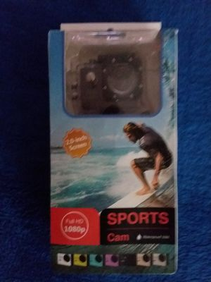 HD 1080 WATERPROOF ACTION CAMERA WITH TRIPOD INCLUDED. for Sale in Imperial, MO