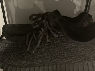 Yeezy Boost 350 Pirate Black Size 12.5 (used) for Sale in Naples,  FL