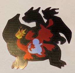 Charmander Evolution Vinyl Decal for Sale in San Angelo,  TX