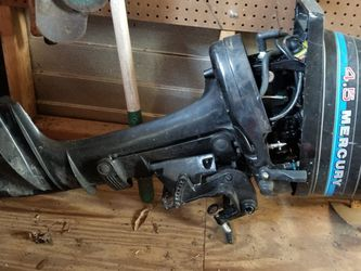 Boat Motor & Tank for Sale in Tavares,  FL