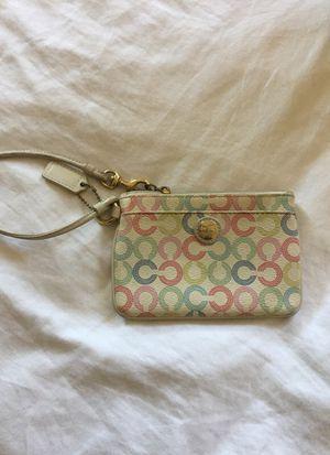 Coach Coin purse wristlet for Sale in Santa Monica, CA