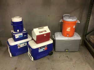 Coolers big and small for Sale in Columbus, OH