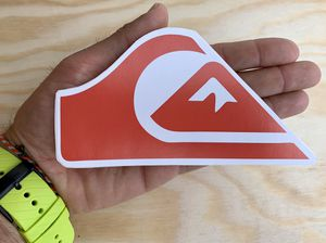 """Quiksilver Surfboard Sticker 6"""" decal Skate surf Snowboard for Sale in Los Angeles, CA"""