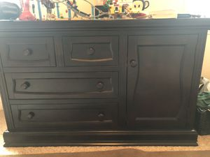 Dresser & 2 Shelving Units for Sale in Bakersfield, CA