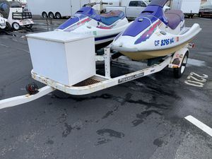 Two SS Kawasaki JetSki's And trailer for Sale in Antioch, CA