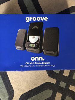NEW Onn Cd/Radio Bluetooth Set for Sale in Marietta,  GA