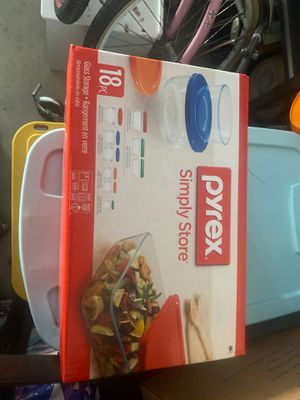 Brand new Pyrex with lids for Sale in Fresno, CA