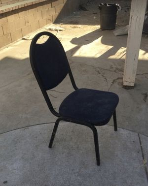 Metal chair. $10. for Sale in Ontario, CA