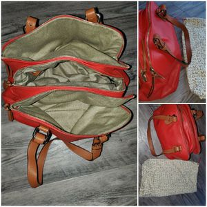 Isaac Mizrahi red tote bag - Brand new OBO for Sale in Fieldsboro, NJ