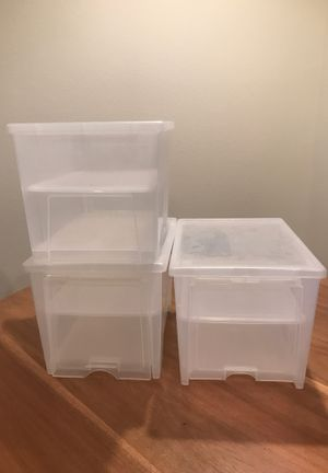 Shoe storage display/container for Sale in Mililani, HI