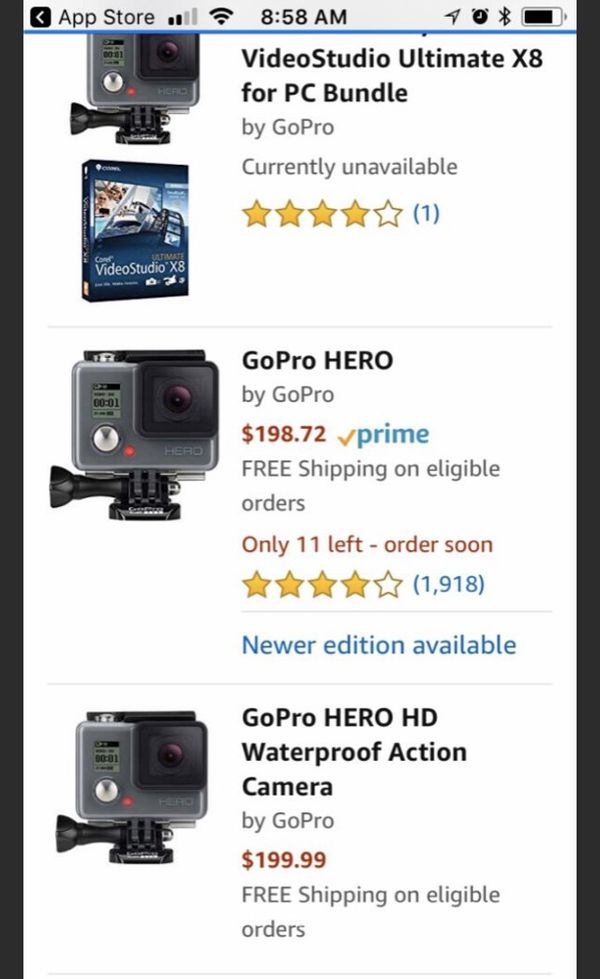 NEW GoPro HERO Waterproof