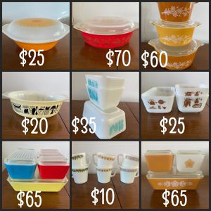 Vintage Pyrex for Sale in Grand Terrace, CA