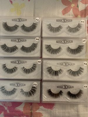 Eyelashes Mink 3D Hair (Bundle) for Sale in Perris, CA