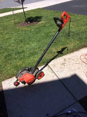 Black decker electric edge hog edger and trench cutter for Sale in Frederick, MD