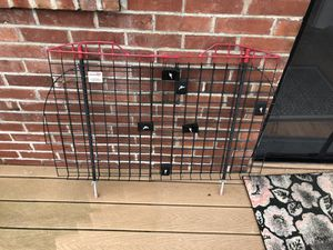 Kennel Wire Mesh Pet Barrier, Adjustable, can fit a Suburban & anything smaller for Sale in Tacoma, WA
