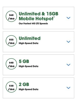 Cricket Wireless Rate Plans for Sale in East Windsor, CT