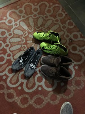3 PAIRS OF SHOES SIZE 12 for Sale in Dickson, TN