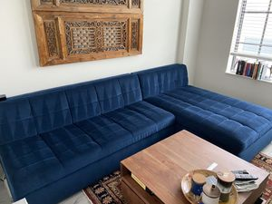 West Elm Couch w/ Storage for Sale in St. Petersburg, FL