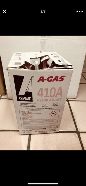 R410A Freon brand new 25 LBS for Sale in Sun City, AZ