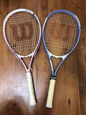 Wilson tennis rackets for Sale in Miramar, FL
