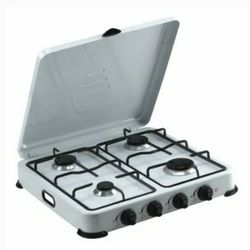 Portable Propane Gas Stove 4 Burners Camping Patio Cocina Fogon Estufa de Gas Propano Campamento Portatil Meseta Premium PPS41 for Sale in Miami,  FL