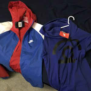 Nike Jacket And Short Sleeve Hoodie for Sale in Las Vegas, NV