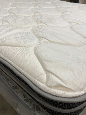 NEW Queen Mattress, Boxspring, and Frame for Sale in Bismarck, ND