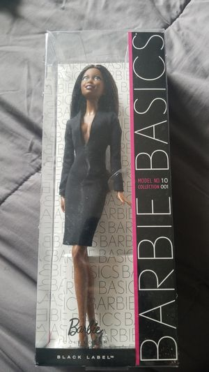 Barbie Basics model NO.10 BLACK LABEL for Sale in CANAL WNCHSTR, OH