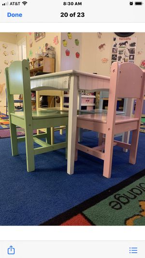 Kids Chairs and Table Set for Sale in Bowie, MD