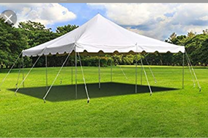 15ft by 15 ft. Pole tent for Sale in Fishersville, VA