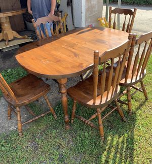 Kitchen table with 5 chairs for Sale in Millsboro, PA