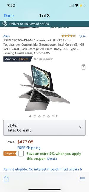 brand new in box Asus chromebook convertible for Sale in Opa-locka, FL