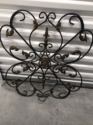 Iron Wall Candle Holder Home Accent Decor for Sale in Huntington Beach, CA