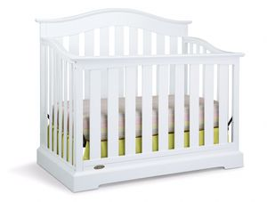 Brand new, 4in1 white baby crib for Sale in Lancaster, OH