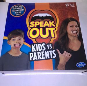 Speak Out Kids vs Parents Game Board New for Sale in San Leandro, CA