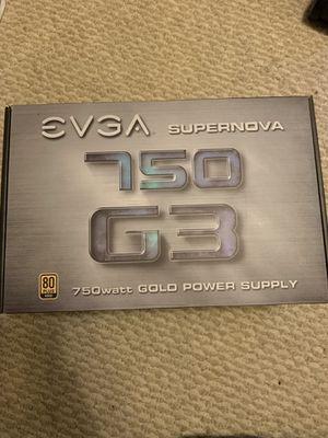 EVGA 750W G3 PSU for Sale in Arcadia, CA