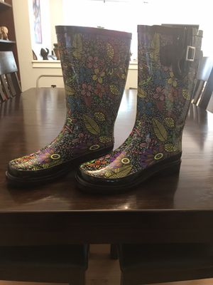 Women's Waterproof Rubber Rain Boots for Sale in Arlington, VA