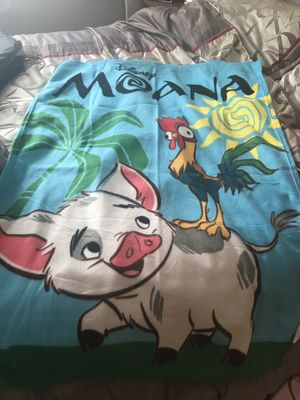 Moana blanket for Sale in Lockport, IL