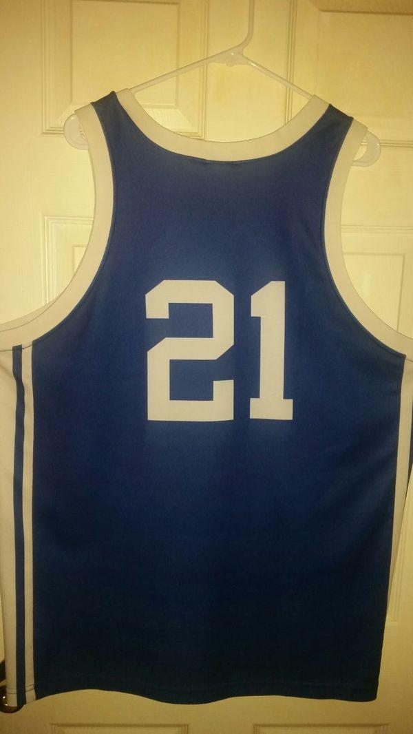 4b24acdbe409 Vintage 90s NIKE DUKE basketball jersey trajan Langdon for Sale in ...