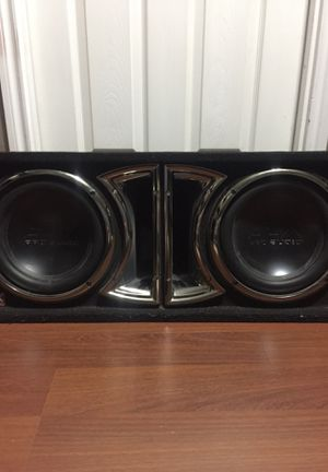 SDX Pro Audio Subwoofer and SDX pro audio amp for Sale in Keller, TX
