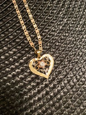14kt necklace for women $350 for Sale in Vienna, VA