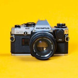 Olympus OM-10 35mm Film SLR w/ 50mm f/1.8 Lens for Sale in Santa Ana, CA
