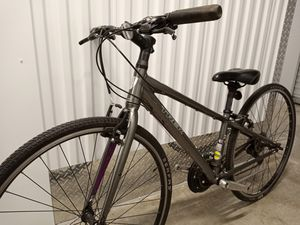 """Short? Trek hybrid/commuter bike, fits 4'9"""" to 5'2"""", serviced+ready to ride! for Sale in Portland, OR"""
