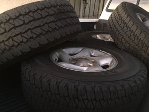 Toyota Tacoma wheels and tires for Sale in San Diego, CA