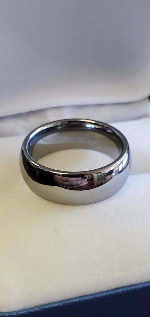 Mens Tungsten Wedding Band, Ring Size 8, 9, 10, 11, 12 & 13 for Sale in Portland, OR