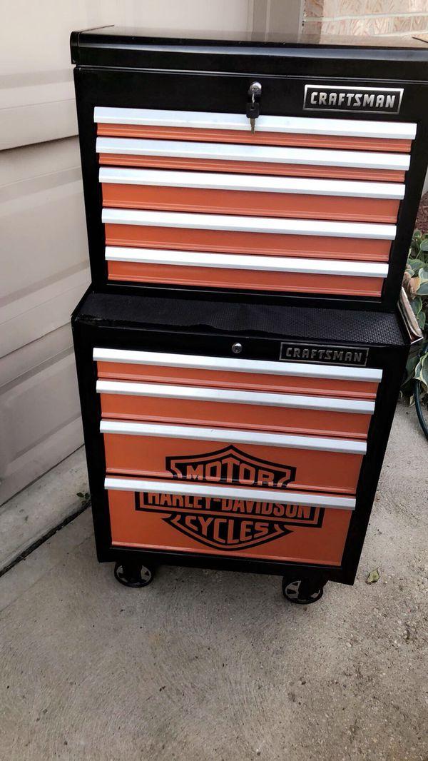 Craftsman Harley Davidson Toolbox For Sale In Lakeside Park Ky Offerup